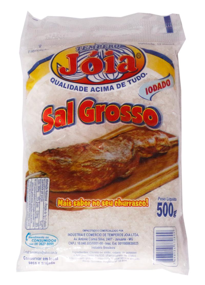 Sal Grosso iodado - 500G