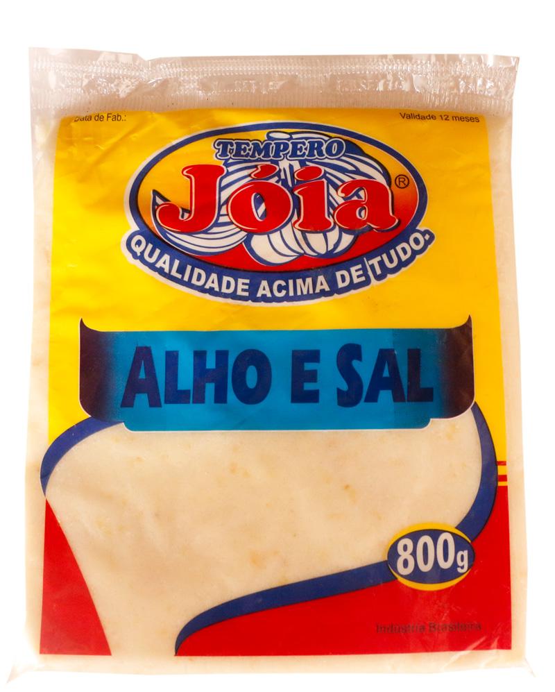 Alho e Sal - 800G